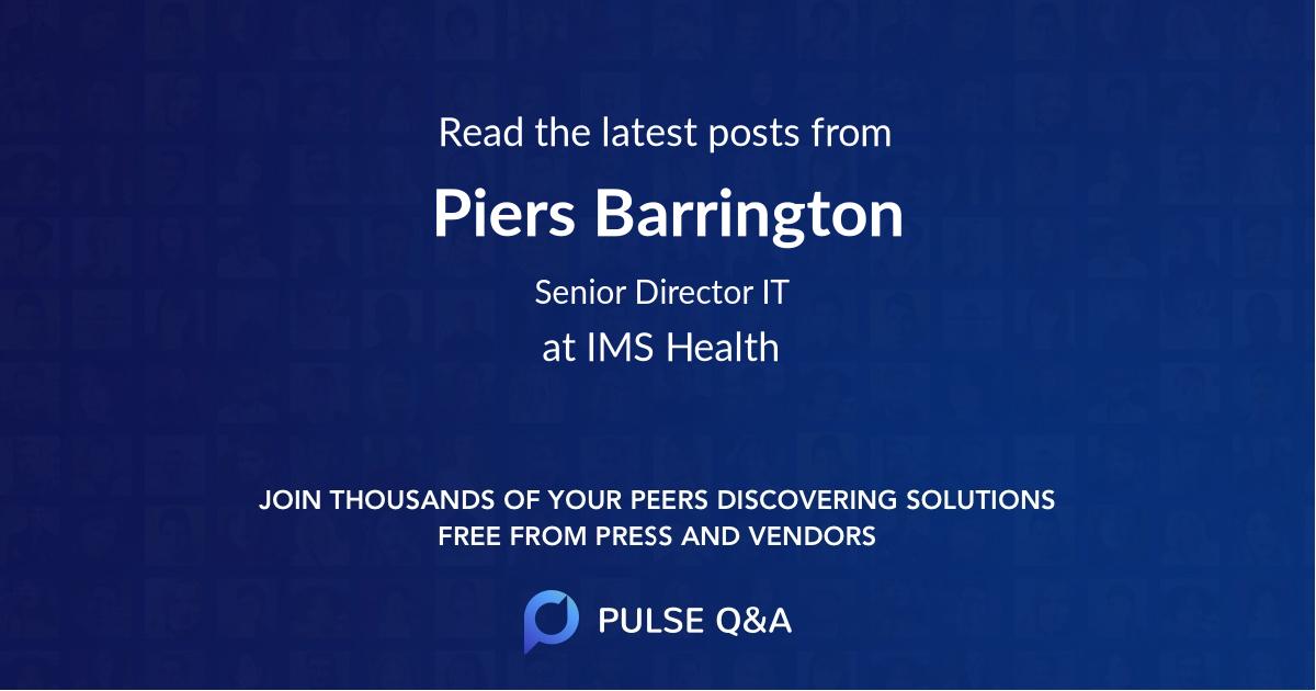 Piers Barrington