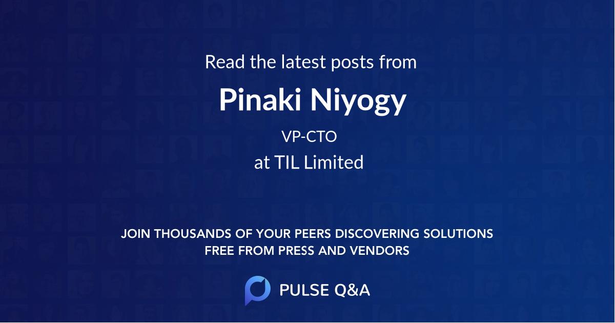 Pinaki Niyogy