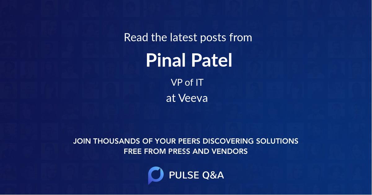 Pinal Patel