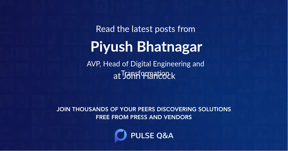 Piyush Bhatnagar
