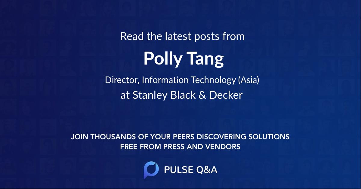 Polly Tang