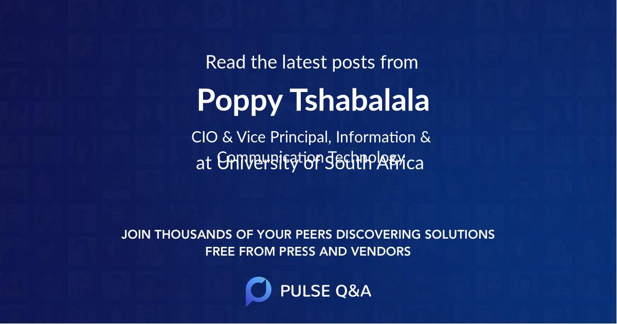 Poppy Tshabalala