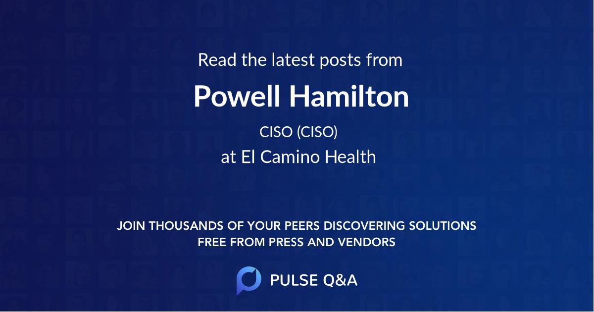 Powell Hamilton