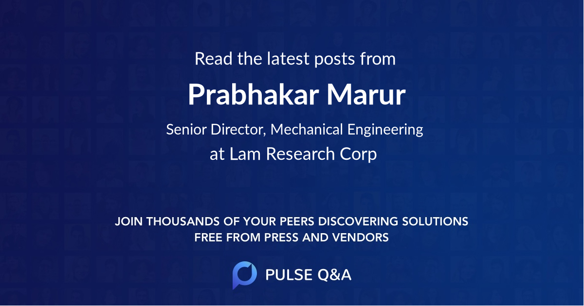 Prabhakar Marur
