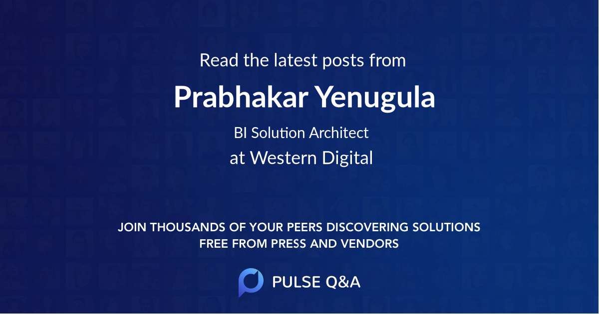 Prabhakar Yenugula