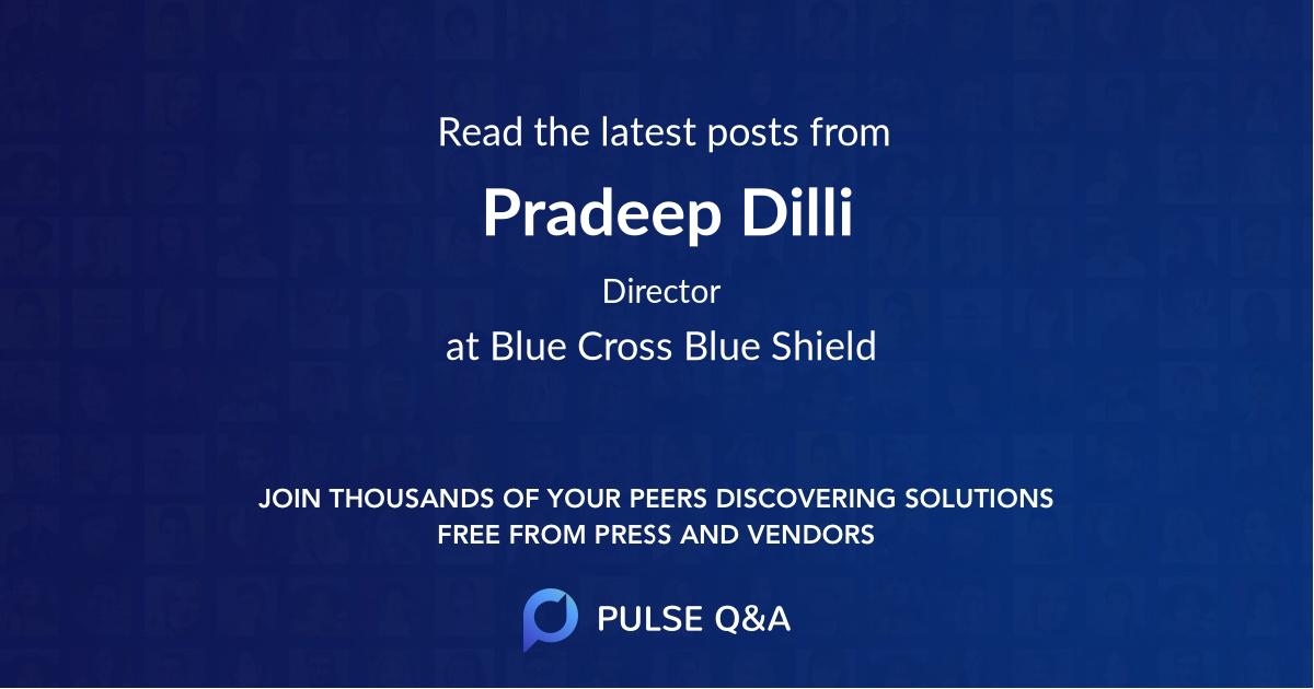 Pradeep Dilli