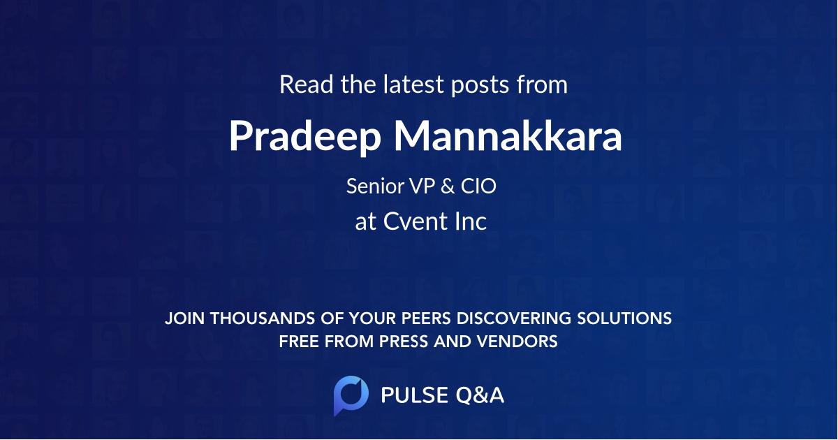 Pradeep Mannakkara