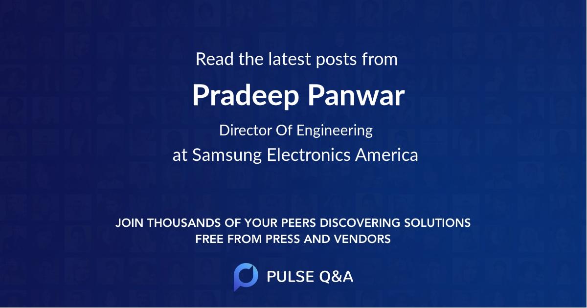 Pradeep Panwar