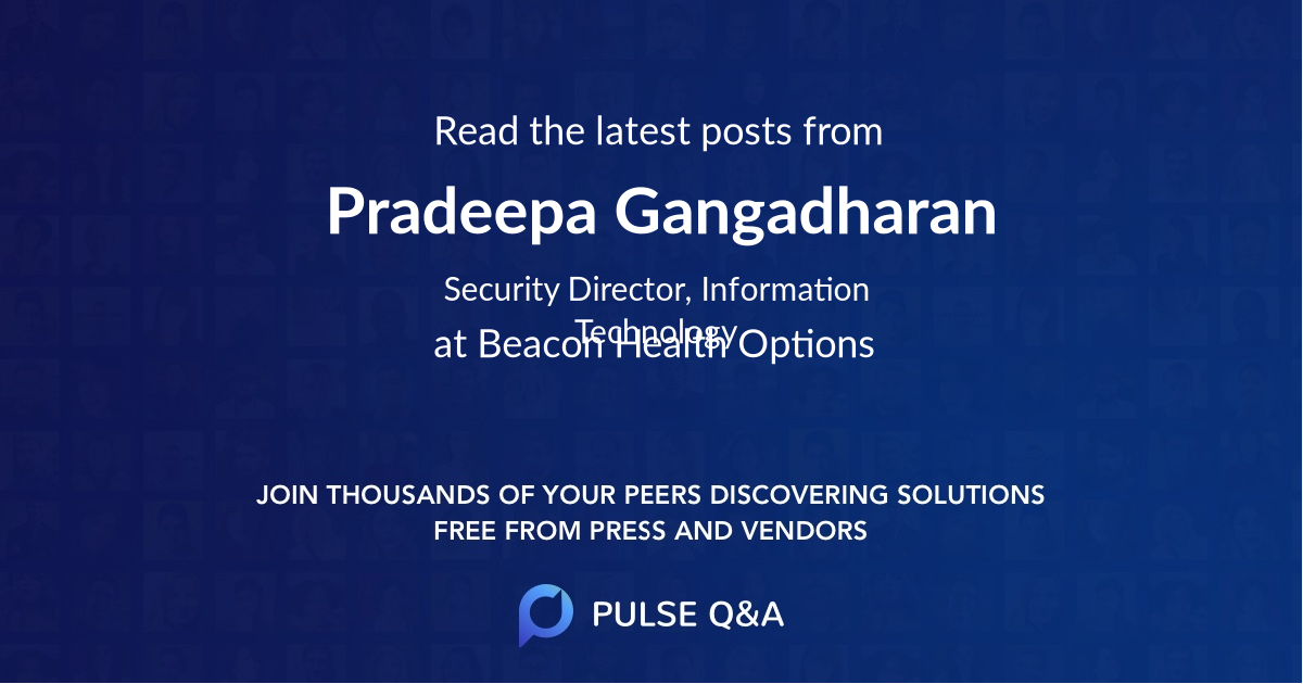 Pradeepa Gangadharan
