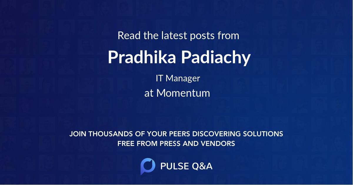 Pradhika Padiachy