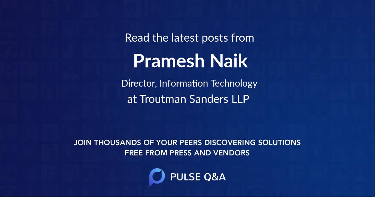 Pramesh Naik