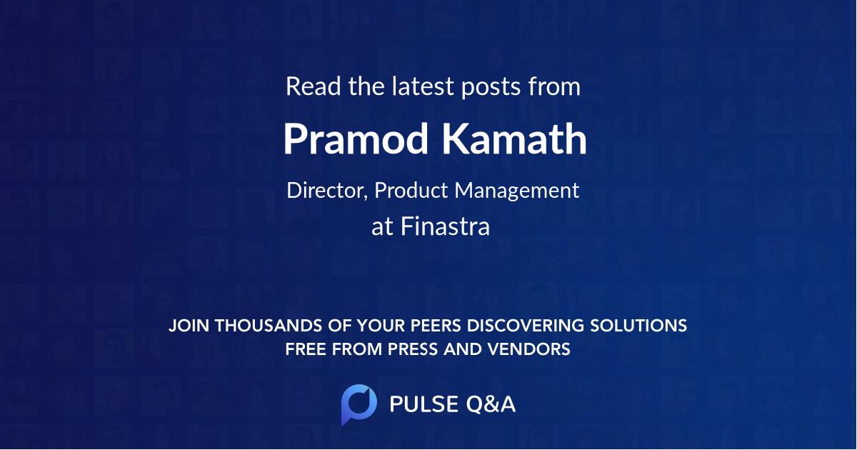 Pramod Kamath