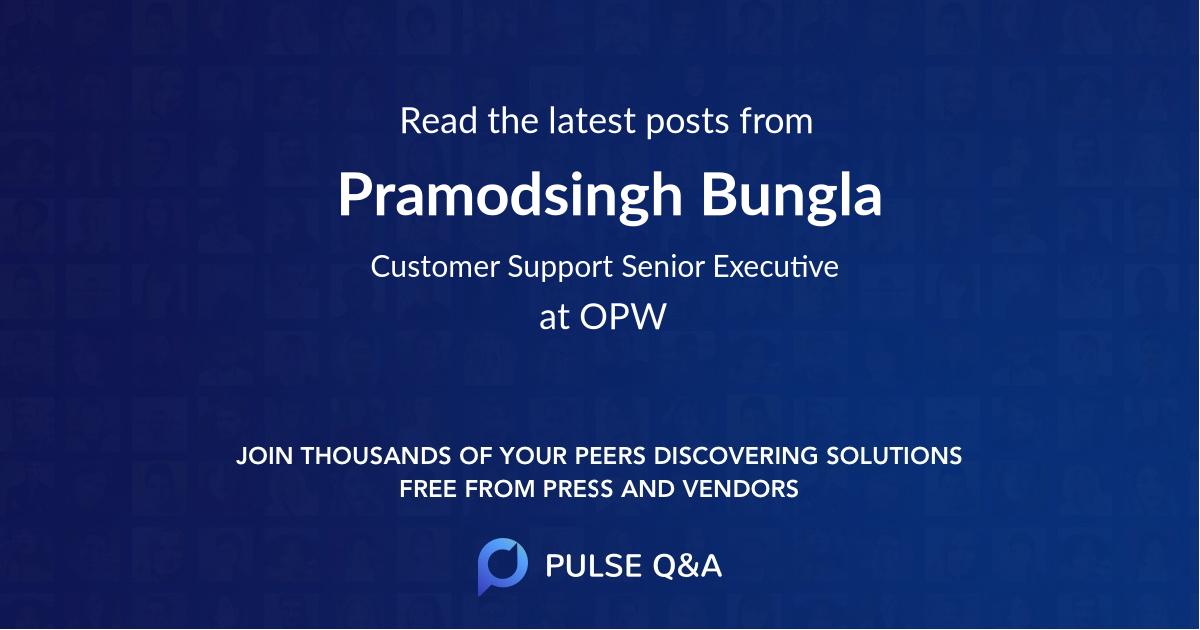 Pramodsingh Bungla