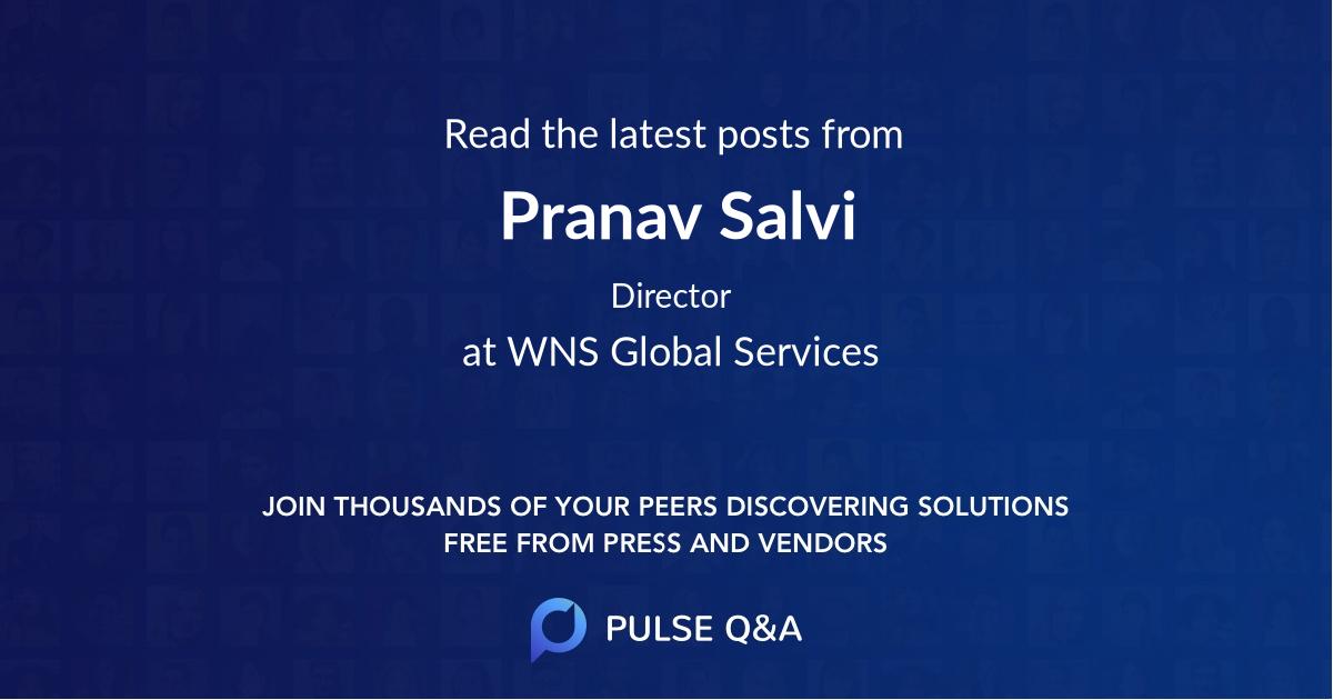Pranav Salvi