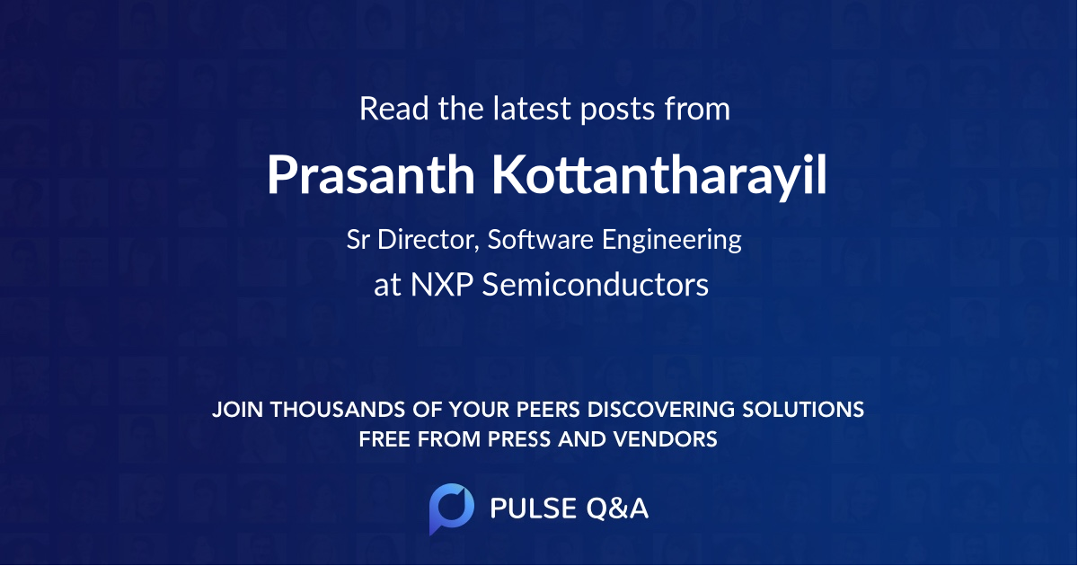 Prasanth Kottantharayil