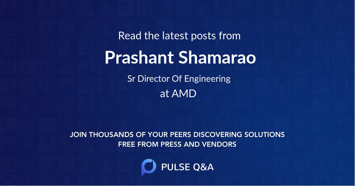 Prashant Shamarao