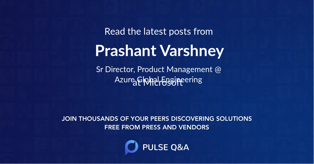 Prashant Varshney