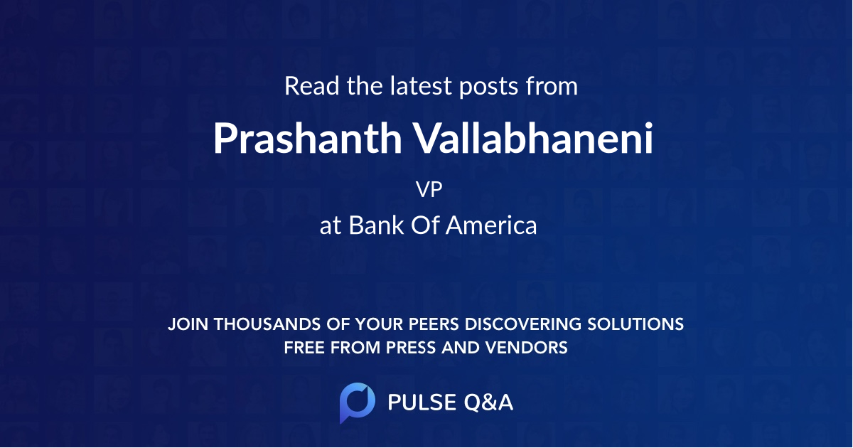Prashanth Vallabhaneni