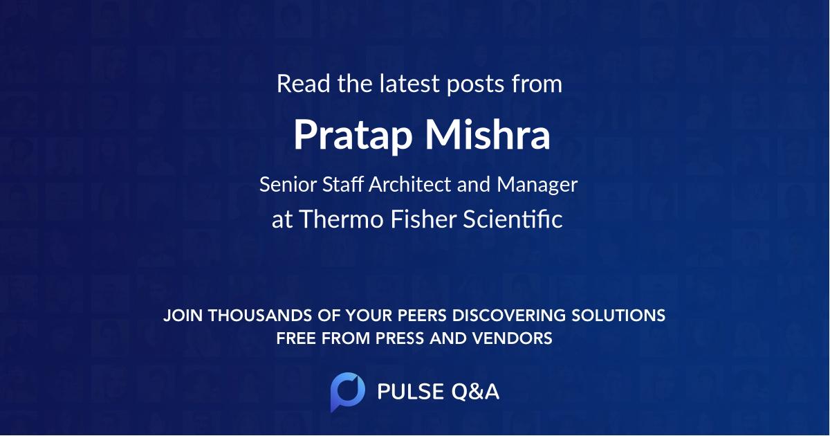 Pratap Mishra