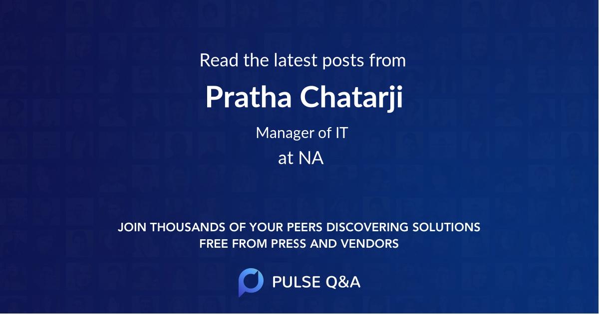 Pratha Chatarji