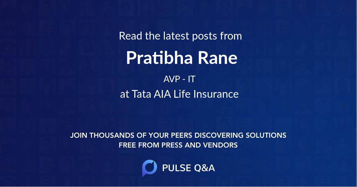 Pratibha Rane