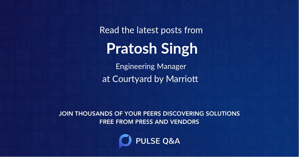 Pratosh Singh