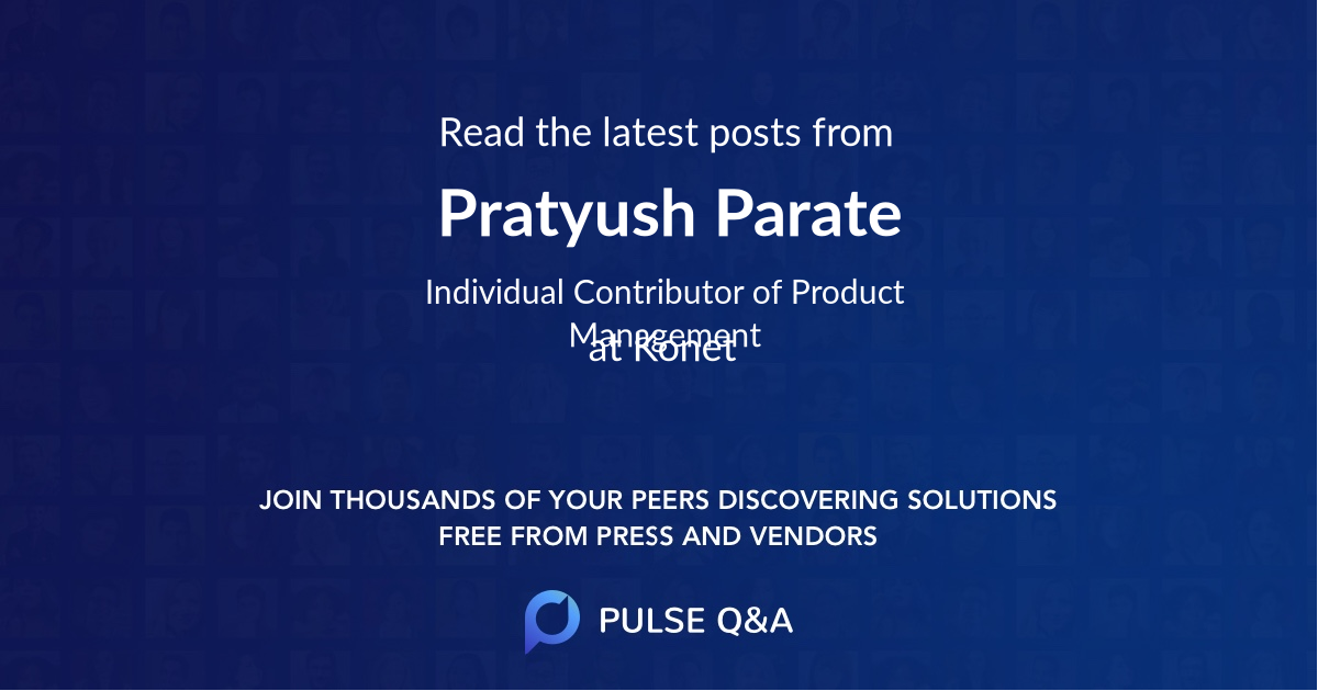 Pratyush Parate
