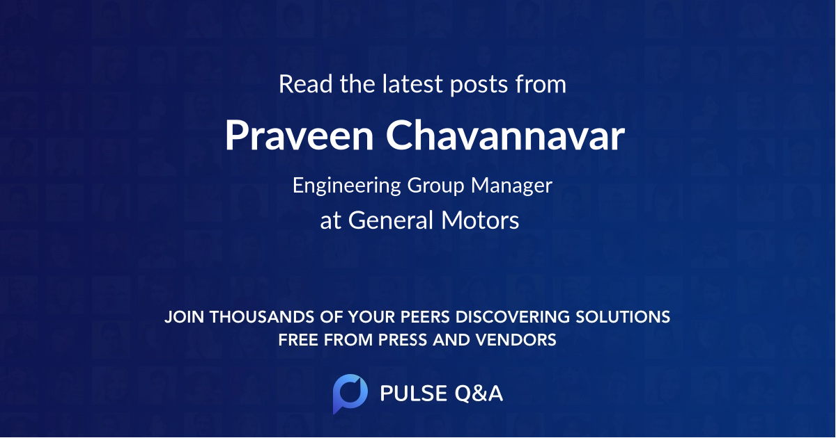 Praveen Chavannavar