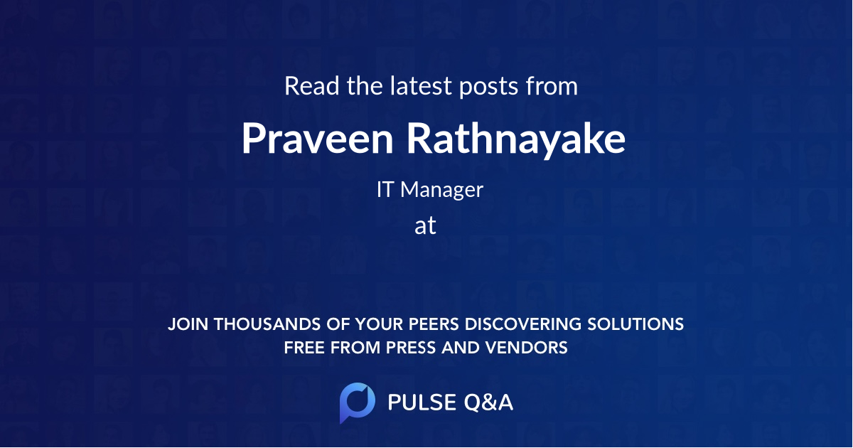 Praveen Rathnayake