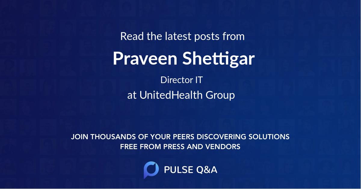Praveen Shettigar