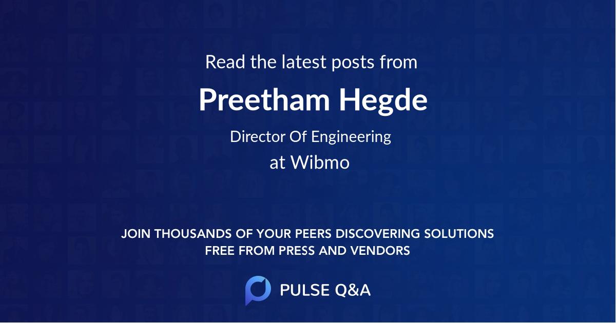 Preetham Hegde