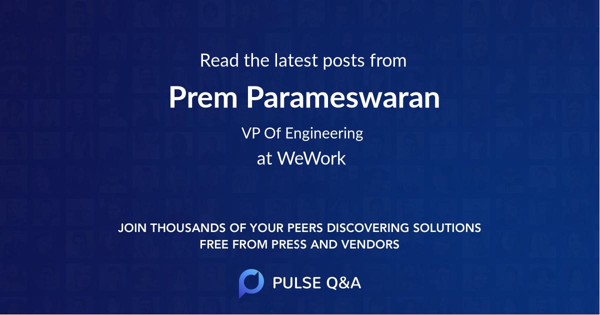 Prem Parameswaran