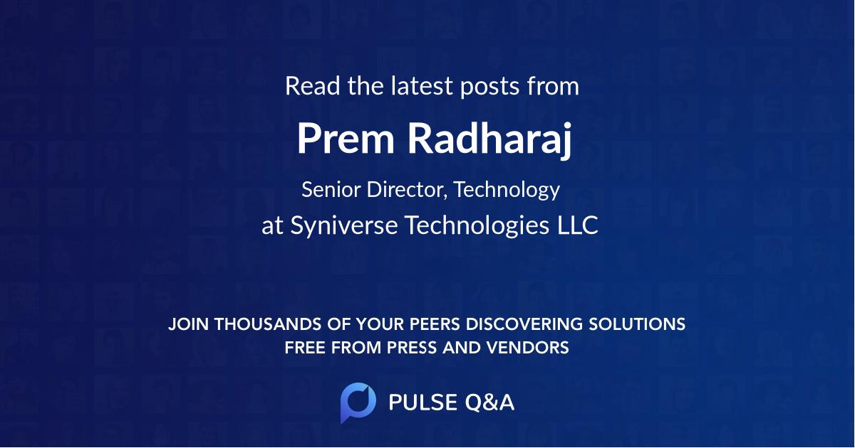 Prem Radharaj