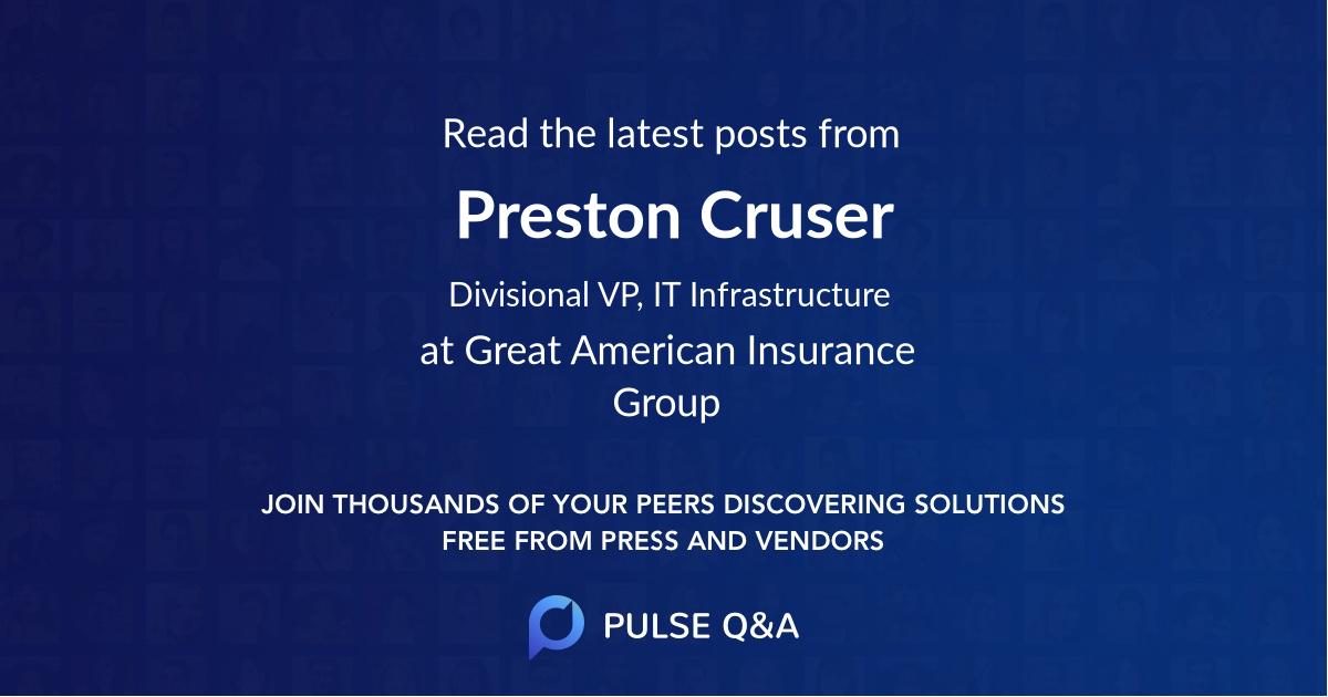 Preston Cruser