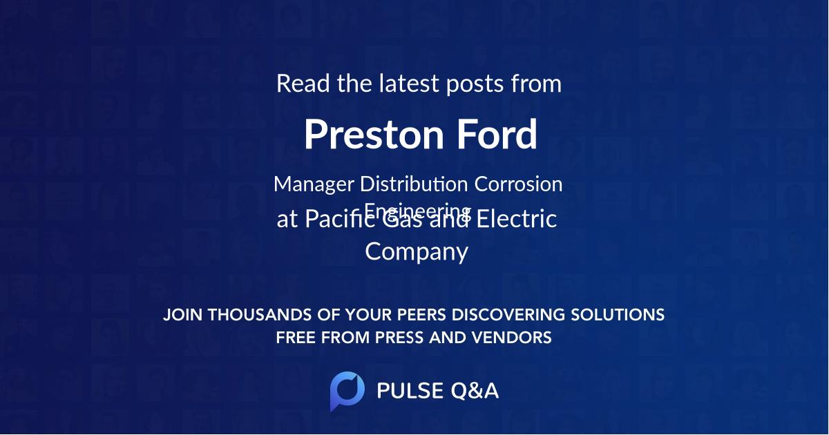 Preston Ford