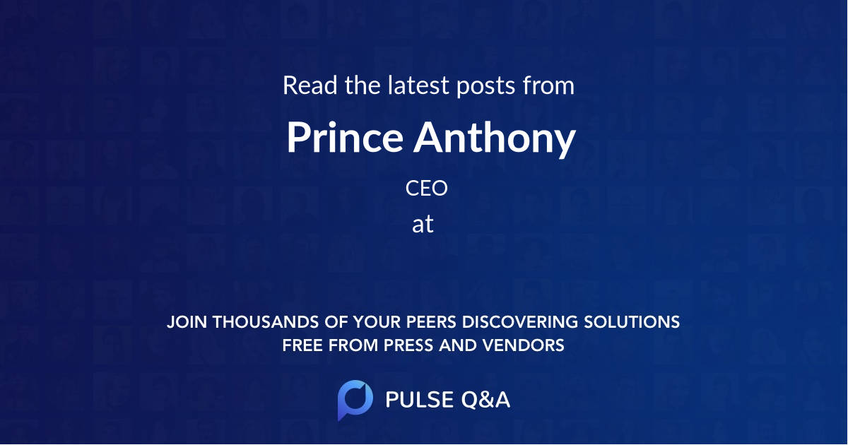 Prince Anthony