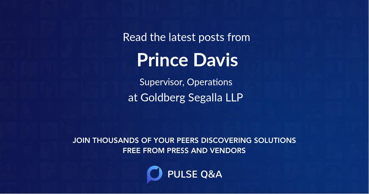 Prince Davis