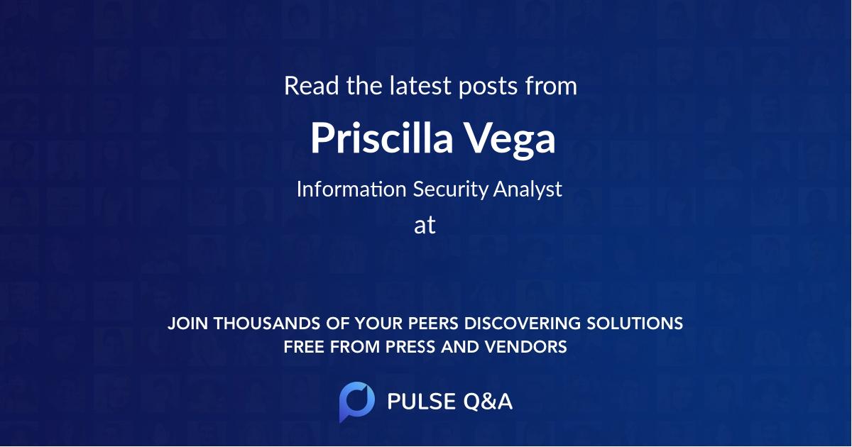 Priscilla Vega