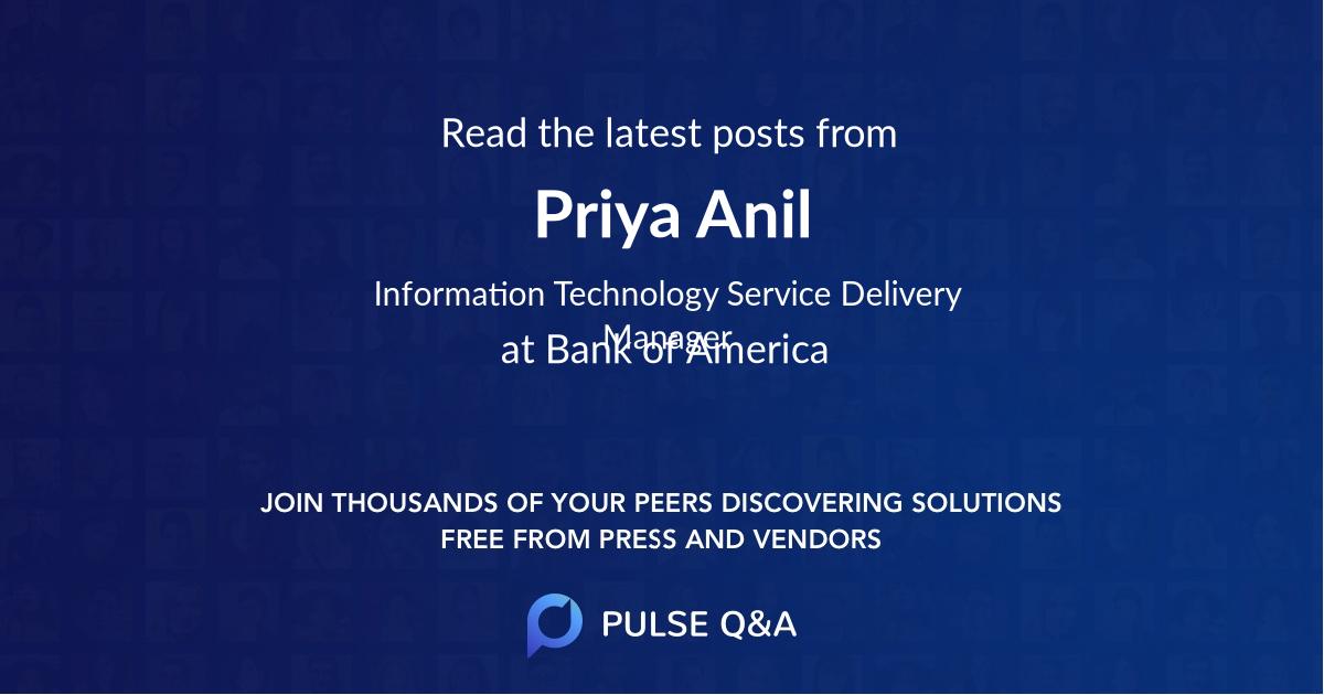Priya Anil
