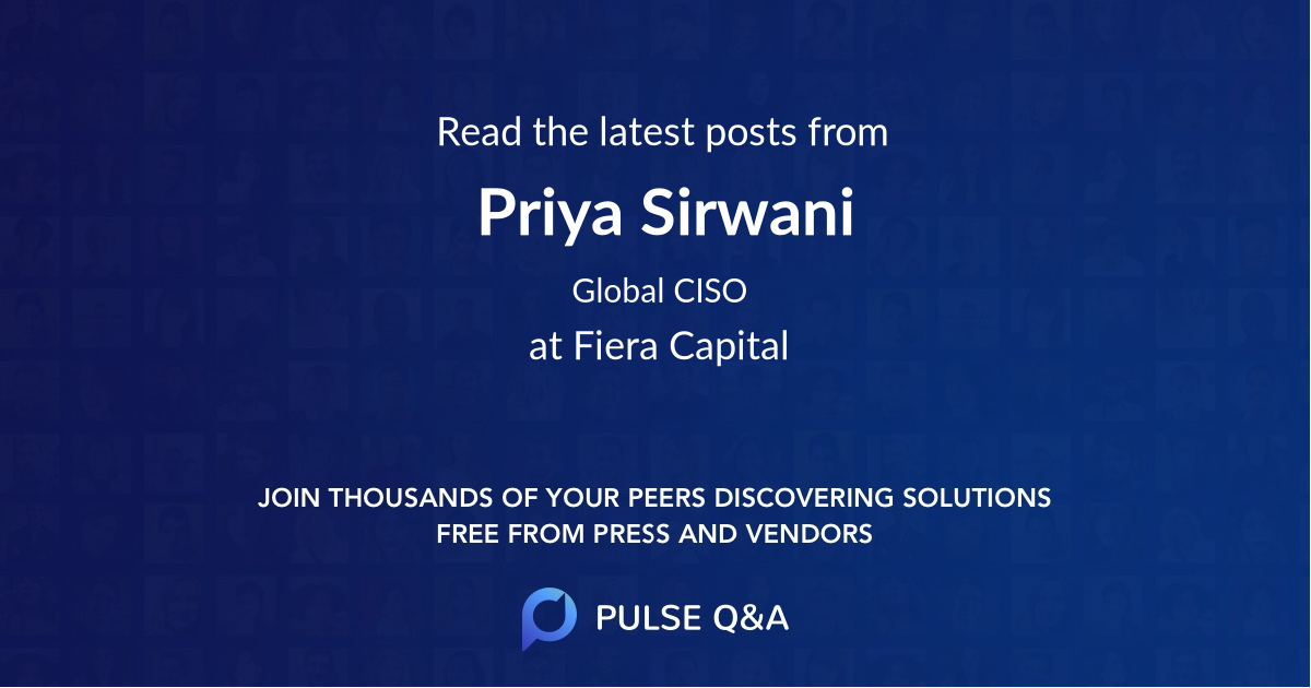 Priya Sirwani