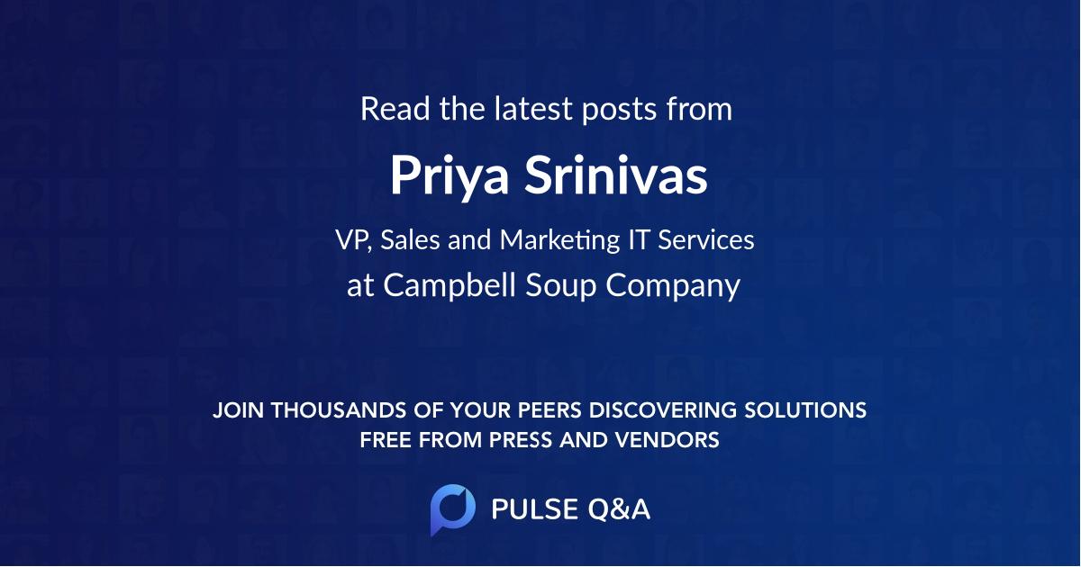 Priya Srinivas