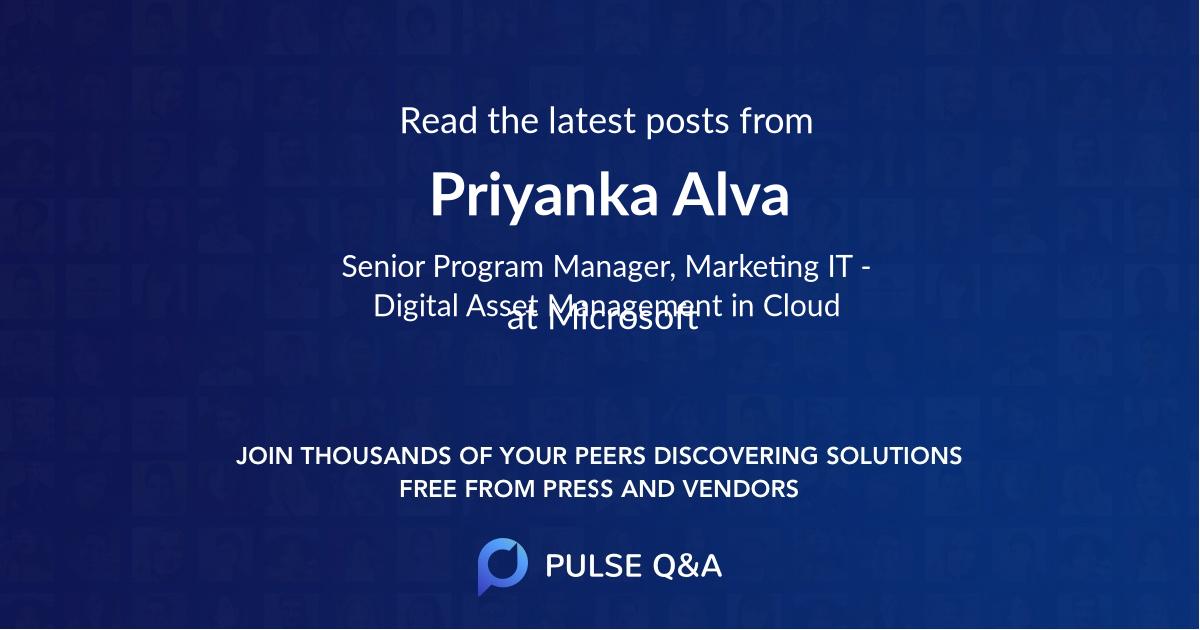 Priyanka Alva