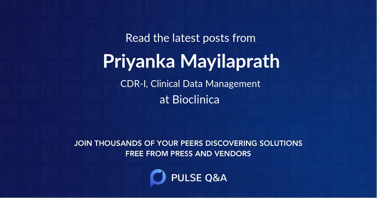 Priyanka Mayilaprath