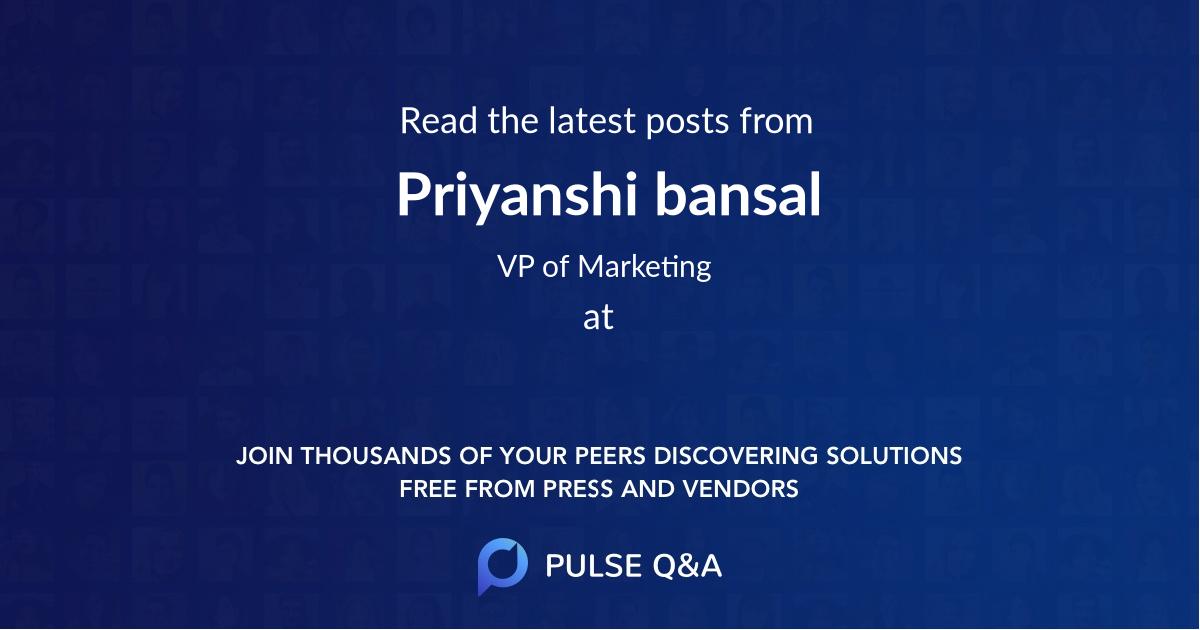 Priyanshi bansal