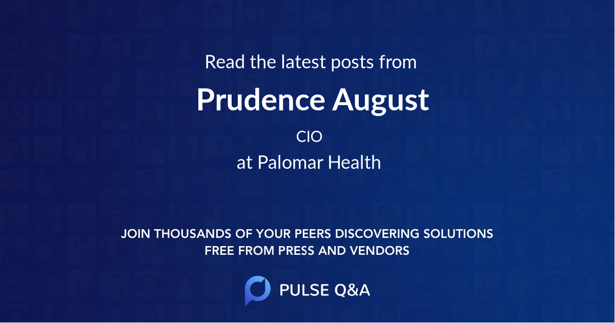 Prudence August