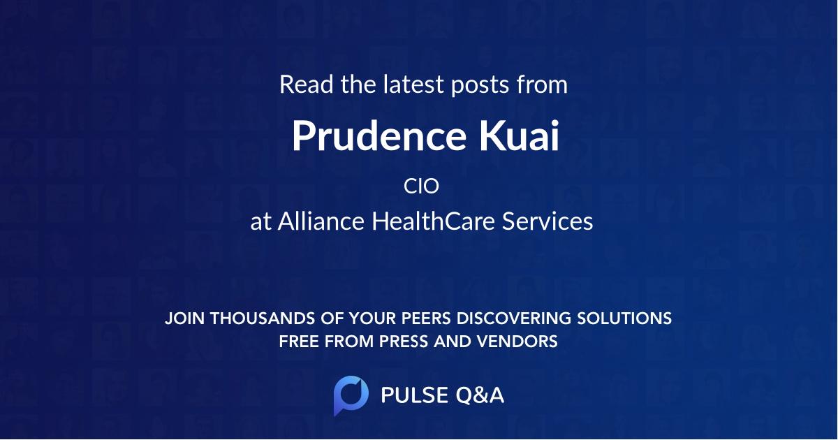 Prudence Kuai