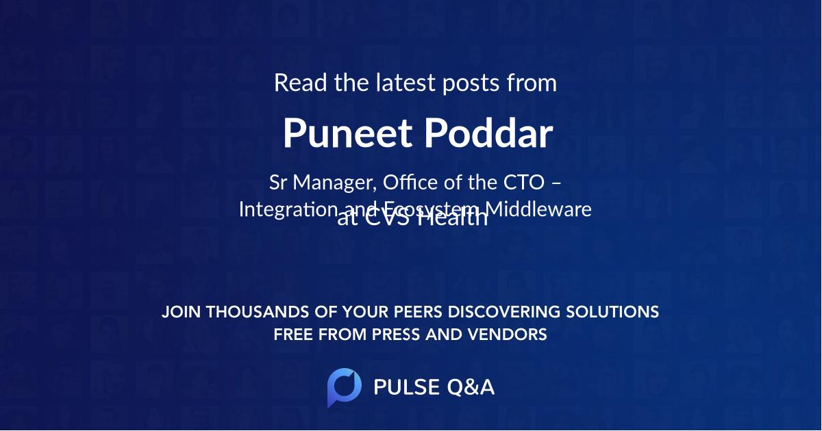 Puneet Poddar
