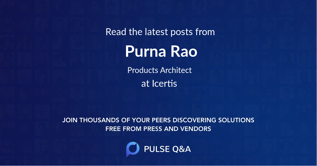 Purna Rao