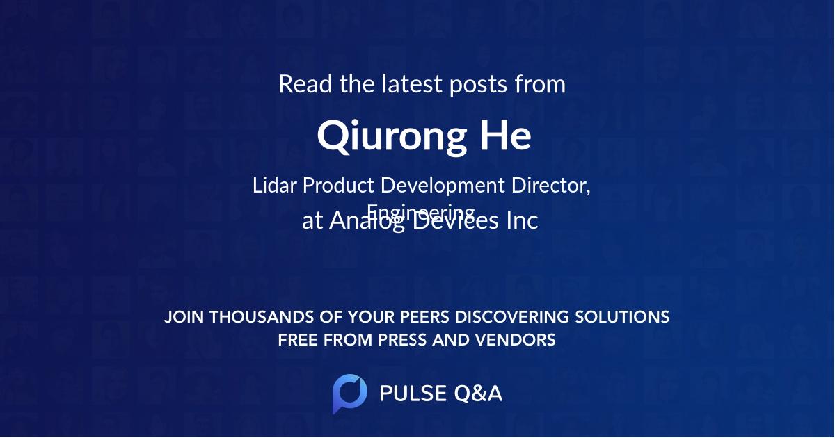 Qiurong He