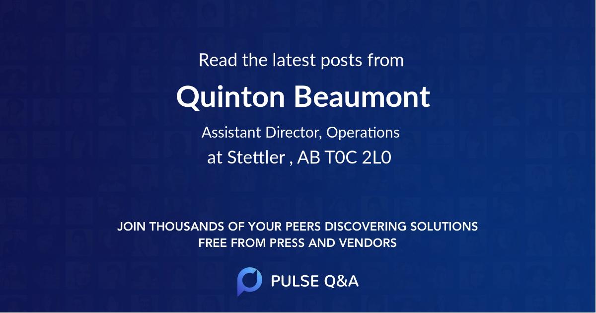 Quinton Beaumont